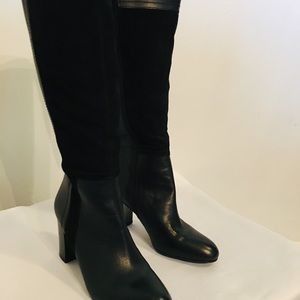 Franco Sarto boots size 7.5 leather/suede